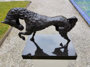 horsepower fries paard brons bronze frysian horse kunstvanmariekedejong