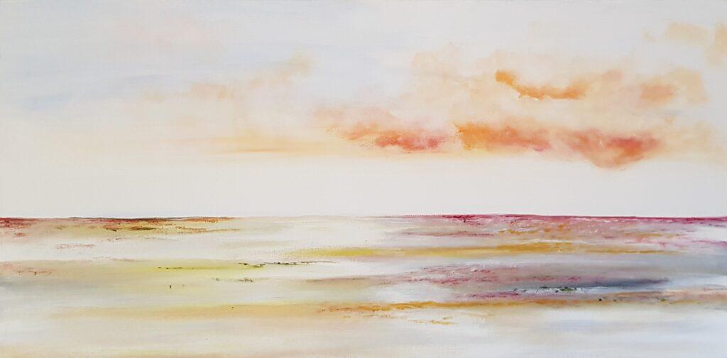 Wad, landscape, landschap, oranje, sunset, zonsondergang